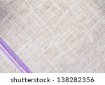 a texture of cloth with ribbon - stock photo