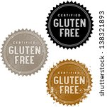 Certified Gluten Free Food Stamp