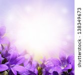 Abstract Spring Background Wit...