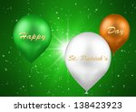 a st. patrick    s day... | Shutterstock . vector #138423923