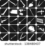 set of icons   Shutterstock .eps vector #138480437