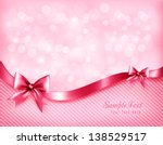 oliday pink background with...