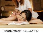 massage | Shutterstock . vector #138665747