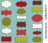 vintage labels set for... | Shutterstock .eps vector #138678377