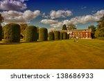 beautiful hyde park in london. | Shutterstock . vector #138686933