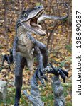 Model Of Aggressive Dinosaur