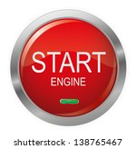 engine start glossy button... | Shutterstock .eps vector #138765467