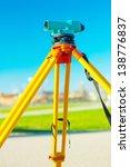 theodolit close up | Shutterstock . vector #138776837