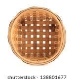 Wooden Round Wicker Basket...