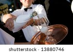 champagne in glass | Shutterstock . vector #13880746