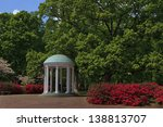 Old Well At Unc Chapel Hill In...
