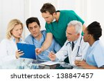 team of experts doctors... | Shutterstock . vector #138847457