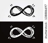 Vector Hand Draw Infinity....