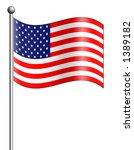 usa flag | Shutterstock . vector #1389182