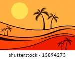 palm trees | Shutterstock . vector #13894273