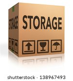 storage box storing spaces in... | Shutterstock . vector #138967493