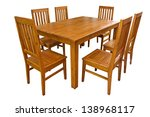 Dining Table And Chairs...