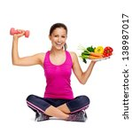 healthy eating and exercise for