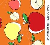apples in the garden | Shutterstock .eps vector #139004993