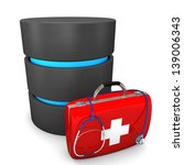a database with emergency case... | Shutterstock . vector #139006343