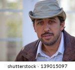 brown eyed intense man | Shutterstock . vector #139015097