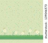 abstract green mosaic...   Shutterstock .eps vector #139046573