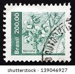 brazil   circa 1982  a stamp...   Shutterstock . vector #139046927