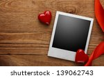 Photo Frame And Small Red...