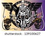 skull rock | Shutterstock . vector #139100627