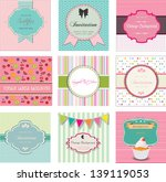 set of vintage labels and...   Shutterstock .eps vector #139119053
