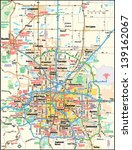 Denver, Colorado area map