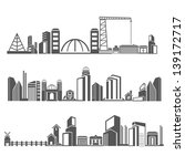 city skyline   building in... | Shutterstock .eps vector #139172717