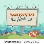 retro poster | Shutterstock .eps vector #139179413