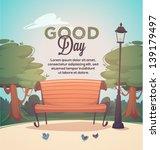 park bench | Shutterstock .eps vector #139179497