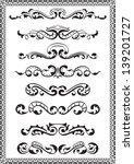 dividers lines for design... | Shutterstock .eps vector #139201727