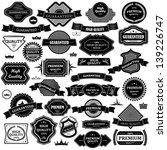 vintage design elements   set.... | Shutterstock .eps vector #139226747