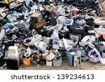 electronic waste ready for... | Shutterstock . vector #139234613