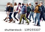 a large group of young people.... | Shutterstock . vector #139255337