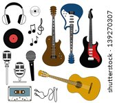 isolated icon of musical... | Shutterstock .eps vector #139270307