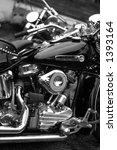 Harley Davidson Panhead Engine...