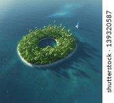 island alphabet. paradise... | Shutterstock . vector #139320587