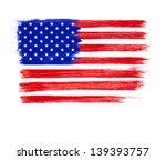 american flag vector.... | Shutterstock .eps vector #139393757