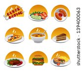 food icon set | Shutterstock .eps vector #139400063