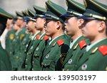 Beijing   Nov 8  Soldiers Stan...