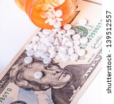 rising cost of health care with ... | Shutterstock . vector #139512557