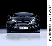 black sports car | Shutterstock . vector #139519967