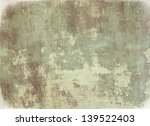 highly detailed grunge... | Shutterstock . vector #139522403