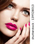 beauty woman with perfect... | Shutterstock . vector #139528013