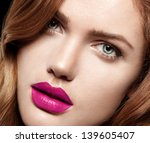 beauty woman with perfect... | Shutterstock . vector #139605407