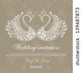 Wedding Invitation Decorated...